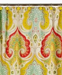 Jaipur shower curtain: in love