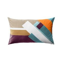 IKEA - LUKTASTER, Cushion cover, Cotton velvet gives depth to the color and is soft to the touch.You can easily vary the look, because the two sides have different designs.The zipper makes the cover easy to remove.