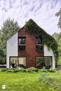 dom w Łomiankach - Domy, styl nowoczesny - zdjęcie od exterio