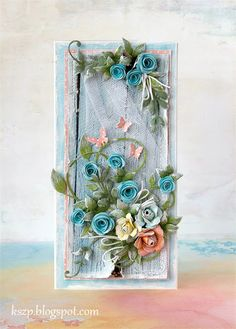 Klaudia/Kszp: Różyczki, tiule, motylki :)