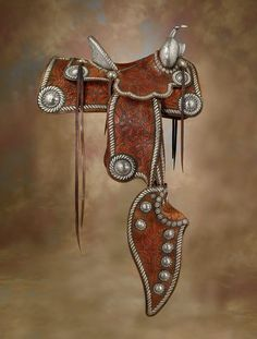 The Lady Yule Visalia Saddle from Gleannloch Farms - High Noon Western Americana