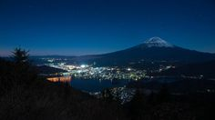 Wonderful Night by peaceful-jp-scenery Mt.Fuji Night View @ Shindo Pass 新道峠からの富士山  Mt.Fuji is registered to World Cultural Heritage in 2013. It was truly big news in Japan. The top is covered by the snow and the air became clearly in the winter everyone like such Mt.Fuji. Wish you Merry Christmas!!  2013年世界文化遺産に登録された富士山です 今年のビッグニュースでしたね 冬に向かい富士山には雪が積もり澄んだ空気により美しく見られる季節となりました 先日の黒岳同様新道峠からも河口湖と山中湖が見られます  Ashikawa-cho Yamanashi pref Japan http://flic.kr/p/itPGoX