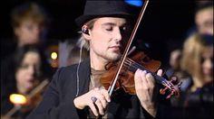 David Garrett - AIR   (Johann Sebastian Bach).  Amazing.... Awesome... Yummy... Mellow... Splendid... (sound...) Me thinks that I am in a loss of adjectives...:D