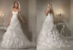 Wore this dress for my wedding... loved it!  Maggie Sottero, Miri