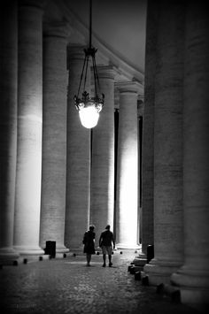 Roma - Colonnato del Bernini
