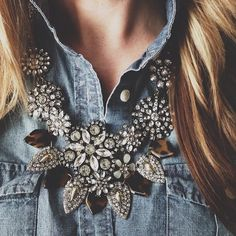 statement necklace- Karla Reed's instagram