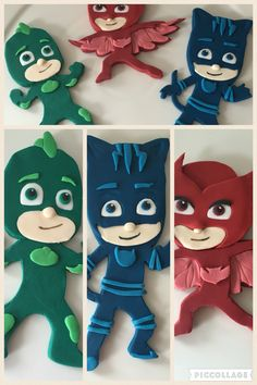 PJ Masks cake decorations