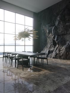 Create a luxury dining room design with the help of these inspirational dining room decor ideas. Find luxury dining furniture and modern dining room lighting. Modern Dining Room Lighting, Luxury Dining Room, Dining Room Design, Dining Rooms, Luxury Rooms, Home Interior Design, Interior Architecture, Room Interior, Interior Decorating