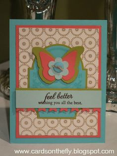 Cards on the Fly: Make-It-Monday Color Challenge