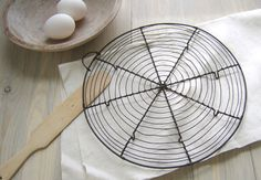 Vintage French Wire Cooling Rack by stilllifestyle on Etsy, $70.00