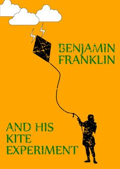 Benjamin Franklin and his Kite Experiment, where would we be without it? #benjamin franklin