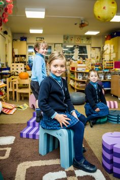 "Carolyn Wilkie, Head of Nursery of Holmewood House School, was very impressed by this tumbling furniture, ""The opportunities for play, exercise and learning are endless, and only limited by your imagination. They are so multi functional, and the children loved them!"""