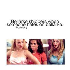 || The 100 - CW || Clarke Griffin (Eliza Taylor) || Bellamy Blake (Bob Morley) ||