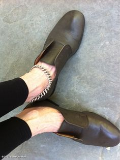 diane keaton shoes, and ankle chain