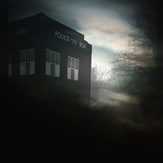 T.A.R.D.I.S in the Mist by Oneideatoday on @DeviantArt