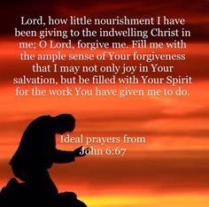 FORGIVENESS PRAYERS inspire from John 6:67 Good afternoon children of God! I recommend you to download the HOLY BIBLE app! IT is very helpful to increase your faith.❤️