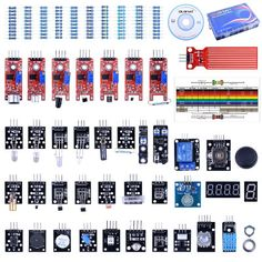 A description of Quimat 37-in-1 Sensor Module Starter Kits with Tutorials for Arduino UNO R3, Mega 2560 NANO and Raspberry Pi 3 RPi 2 Model B B+, a kit suitable to experiment and integrate into solutions for home automation and the Internet of Things.