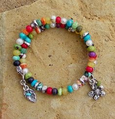 Gaspeite Wild Horse Coral Handcrafted Artisan Sterling by ljmoreau, $140.00