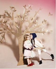Create a cardboard tree!!!