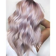 Celebrating with this cotton candy hair 🍬🍭 by Formula: Pretoned with SV + VP Rapid Toner Formula Rose + Ice Sheer Tone Formula Rose + Natural Gold Sheer Tone Dusty Rose Hair, Lilac Hair, Gold Hair, Pink Hair Toner, Toner For Blonde Hair, Rose Blonde Hair, Lavender Hair, Ice Hair, Pelo Multicolor