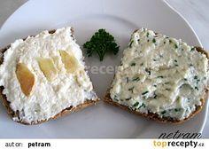 Pomazánka z tofu à la tavený sýr recept - TopRecepty.cz