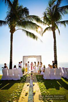 Wedding At The Istana Uluwatu
