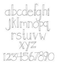 Den10studio - art prints, note cards, hand lettering… Lettering Styles Alphabet, Hand Lettering Fonts, Doodle Lettering, Simple Lettering, Lettering Ideas, Monogram Fonts, Script Fonts, Letter Alphabet Fonts, Monogram Letters