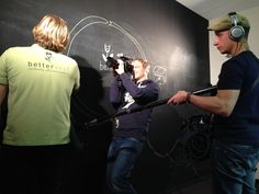 Behind the scenes: bettervest dreht