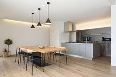 納入事例|キッチンハウス : kitchenhouse|オーダーキッチン・カスタム Conference Room, Dining Room, Interior, Kitchen, Table, House, Furniture, Home Decor, Room Ideas