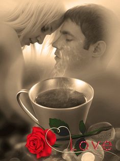 Romantic Gif, Romantic Pictures, Romantic Couples, Good Morning Kisses, Good Morning My Love, Beau Gif, Love You Gif, Beautiful Gif, Gif Pictures