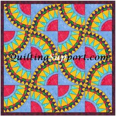 This Rick Rack Beauty 2 quilt block pattern can be made with expert precision by. Paper Piecing Patterns, Applique Patterns, Quilt Patterns, Rick Rack, Drunkards Path Quilt, Paper Pin, Neutral Quilt, Thing 1, Foundation Paper Piecing