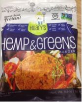 Jackie Topol, MS, RD, CDN loves our Hilary's Eat Well Hemp and Greens Burger