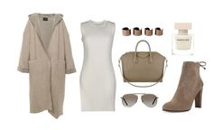 """""""cashmere dream"""" by srazak ❤ liked on Polyvore featuring CÉLINE, Stuart Weitzman, Tom Ford, Givenchy, Narciso Rodriguez, Maison Margiela, Fall, casual, daywear and nude"""