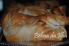 Pêras e Maçãs Embrulhadas em Massa Filo: Aqui está uma sobremesa muito rápida e fácil de fazer, ideal para um dia queapareça algum convidado surpresa para jantar e não termos uma ...