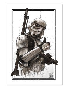Star Wars: Stormtrooper - Star Wars Stormtroopers - Ideas of Star Wars Stormtroopers - Star Wars: Stormtrooper Star Wars Kylo Ren, Rey Star Wars, Star Wars Film, Star Wars Ewok, Star Wars Meme, Star Wars Quotes, Star Wars Tattoo, Star Wars Logos, War Tattoo