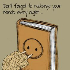 Recharge you.