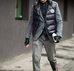 201610_Menz_down vest_dandy_dressing well_coordination_008