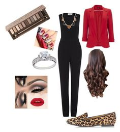 """""""My Christmas outfit 2015"""" by segura-priscilla on Polyvore featuring Wallis, A.L.C., Dsquared2, Urban Decay and Tacori"""