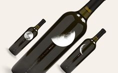The Harvest of the Moon by 8 Bis Agency #moon #wine #packaging