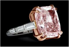 Cartier The Majestic Pink Diamond Ring 12 Carats