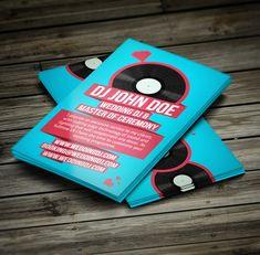 77 best dj business cards images on pinterest dj business cards