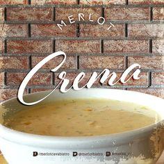 Visítanos hoy y disfruta de una deliciosa crema. #merlotbistro #cavagrill #cremadeelote