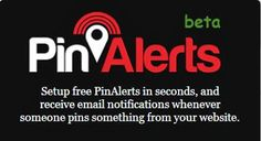 Wanna know who pins something from your website on #Pinterest, use #PinAlerts! | Social Media, Software, Web on End of Line Magazine