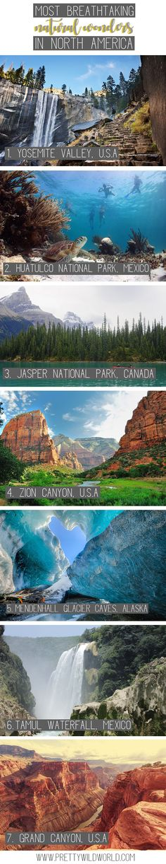 Breathtaking natural wonders in North America   north america travel   wildlife   north america national parks   north america bucket lists   road trips   travel north america destinations