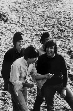 The Beatles in The Bahamas on the set of Help!