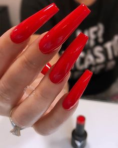 Bling Acrylic Nails, Sparkle Nails, Best Acrylic Nails, Acrylic Nail Designs, Diva Nails, Aycrlic Nails, Hot Nails, Manicure, Perfect Nails
