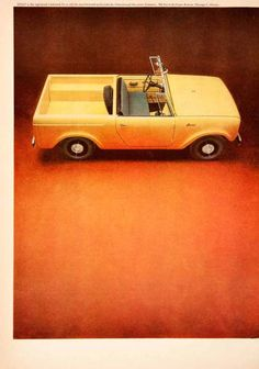 '64 International Harvester Scout Truck Ad