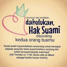 Dahulukan Hak Suami Good Vibes Quotes, Reminder Quotes, Self Reminder, Hijrah Islam, Islam Marriage, Quotes Lucu, Cinta Quotes, Islamic Inspirational Quotes, Islamic Quotes