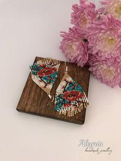 Dalia beaded earrings