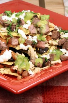 Best Loaded Nachos Comfort Food Style | Victoria Haneveer #nachos #mexican #texmex